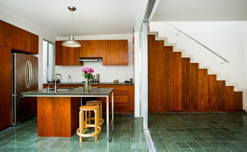 Деревянный кухонный гарнитур - Фото 44