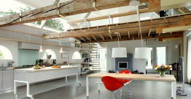 Деревянный стол на кухне: наглядные примеры создания оригинальных кухонных интерьеров