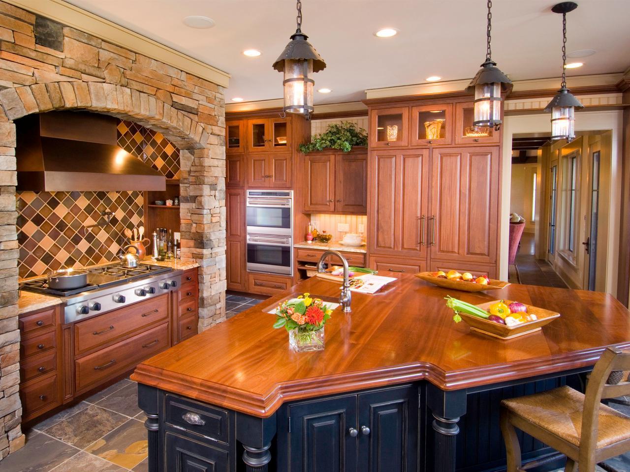 Деревянные кухонные столешницы из полированного дерева- фото 1