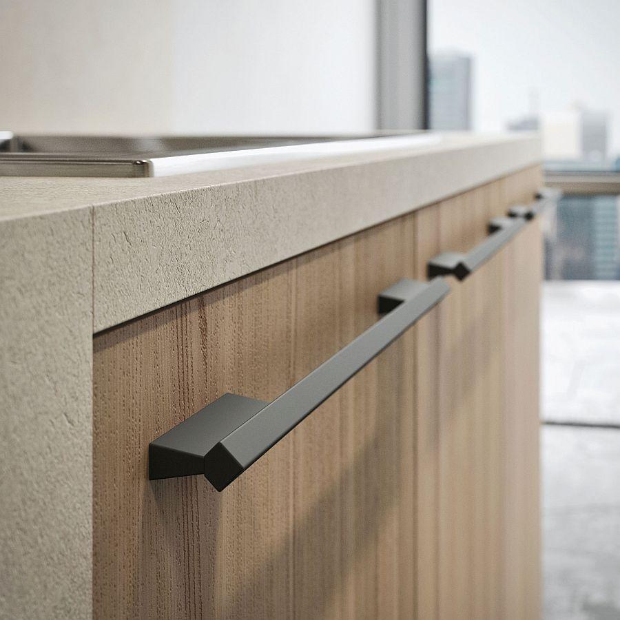 Великолепный минималистский дизайн кухонного гарнитура Opera Kitchen