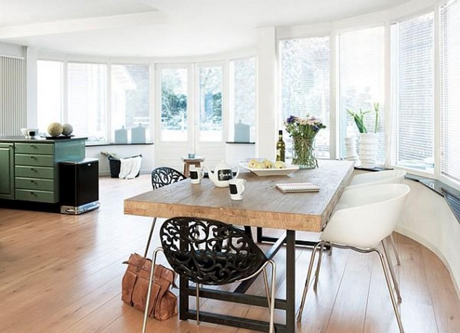 Кухонные столы в интерьере
