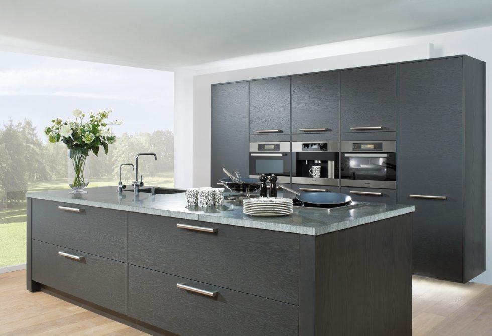 Один из примеров дизайна кухонного острова