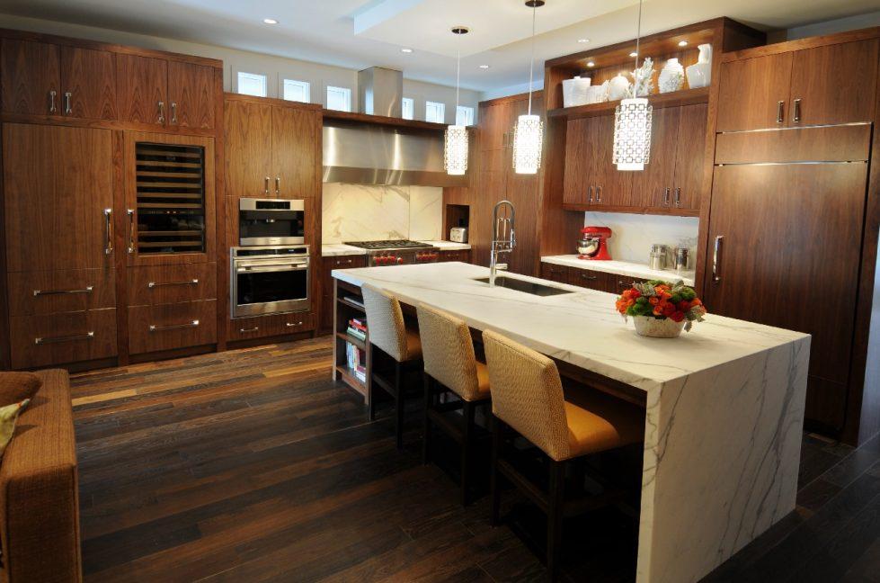 Современные решения в оформлении кухни