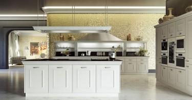 Изысканный дизайн интерьера кухни Gioconda от Snaidero