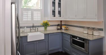 Стильный дизайн раковины в интерьере кухни от Erica Islas, EMI Interior Design, Inc