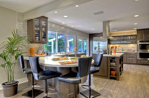 Стильные современные светильники для кухни