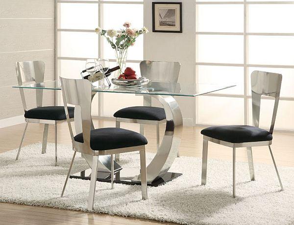 Элегантный дизайн интерьера столовой