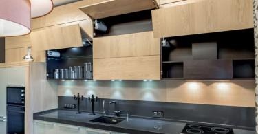 Красивое оформление кухни-столовой от Жюльетты Ситниковой