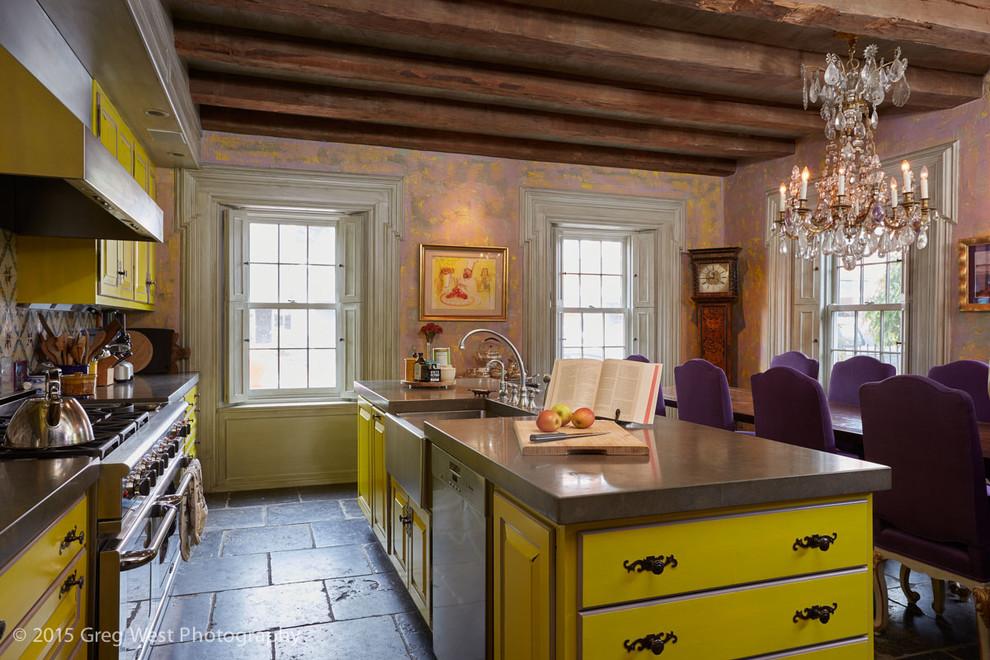Дизайн кухни в деревенском стиле от Лизы Дестефано