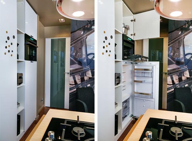 Фотоколлаж: оригинальный дизайн интерьера кухни от Татьяны Смирновой