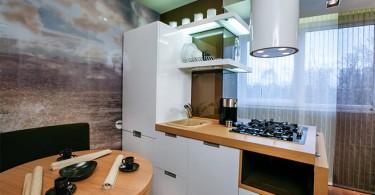 Оригинальный дизайн интереьра кухни от Татьяны Смирновой