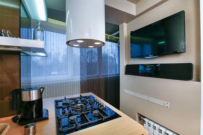 Оригинальный дизайн интерьера кухни от Татьяны Смирновой