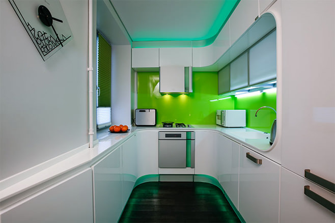 дизайн кухни фото цветные