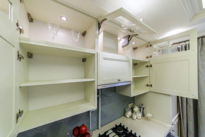Внутренняя подсветка кухонных шкафчиков