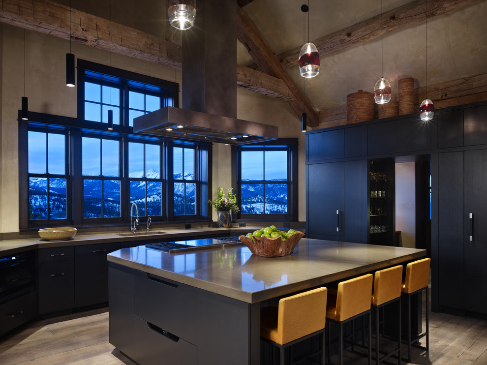 Современный дизайн интерьера кухни - Фото 1