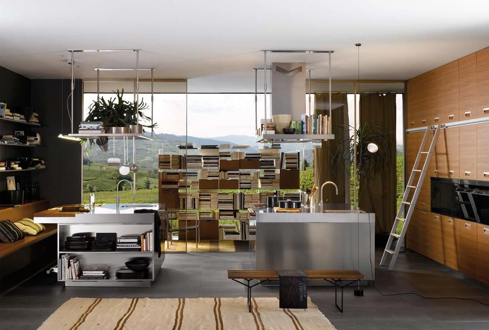 Современный дизайн интерьера кухни - Фото 5