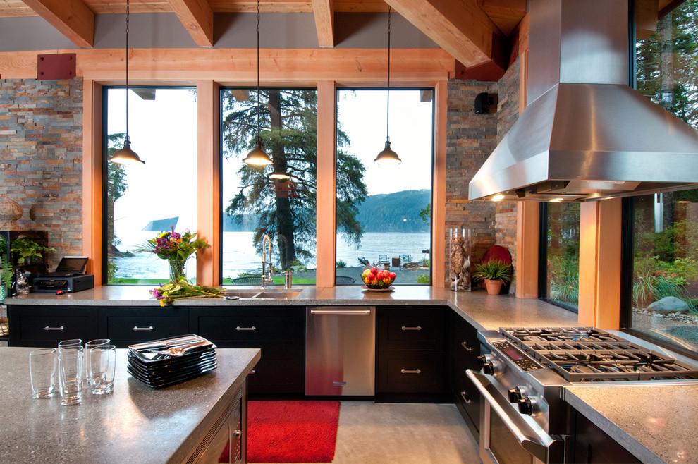 Современный дизайн интерьера кухни - Фото 7