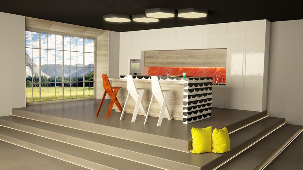 Современный дизайн интерьера кухни - Фото 10
