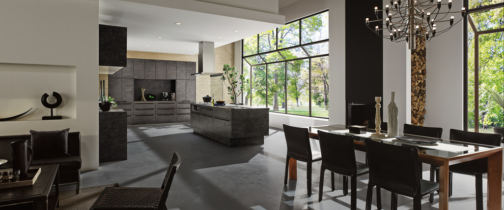Современный дизайн интерьера кухни - Фото 13