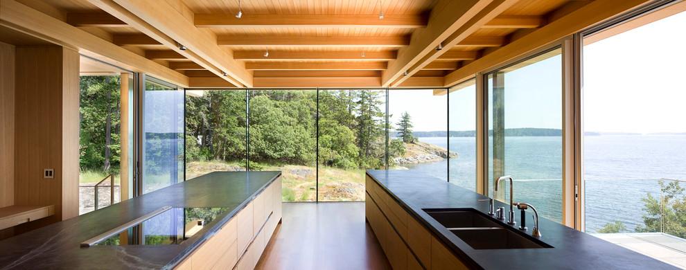 Современный дизайн интерьера кухни - Фото 14
