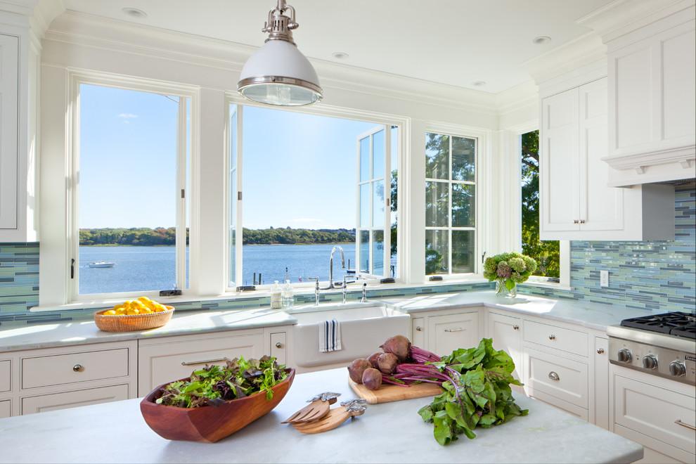 Современный дизайн интерьера кухни - Фото 16