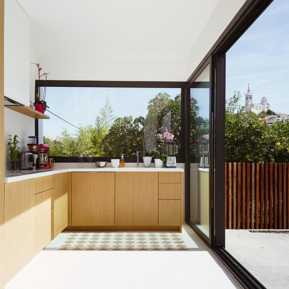 Современный дизайн интерьера кухни - Фото 21