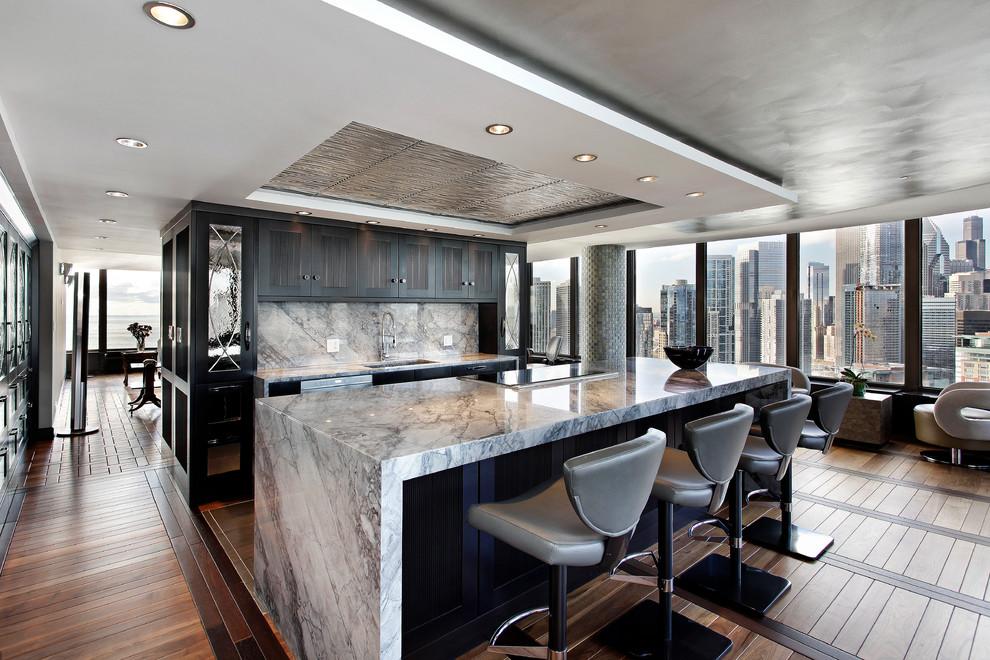 Современный дизайн интерьера кухни - Фото 22