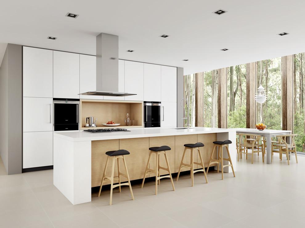 Современный дизайн интерьера кухни - Фото 24