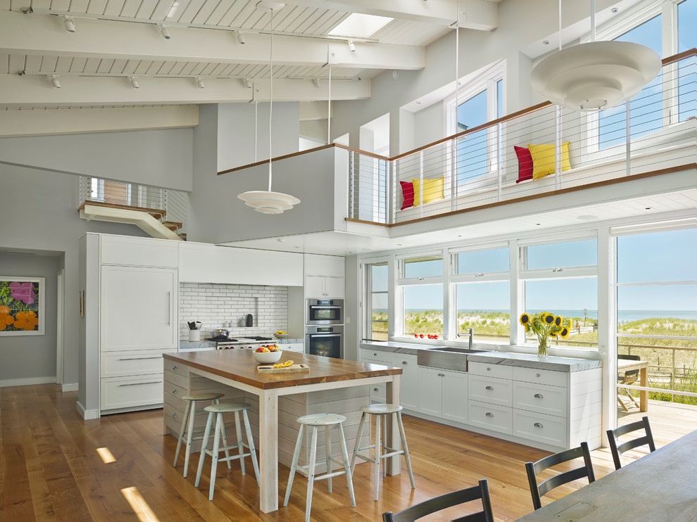 Современный дизайн интерьера кухни - Фото 25