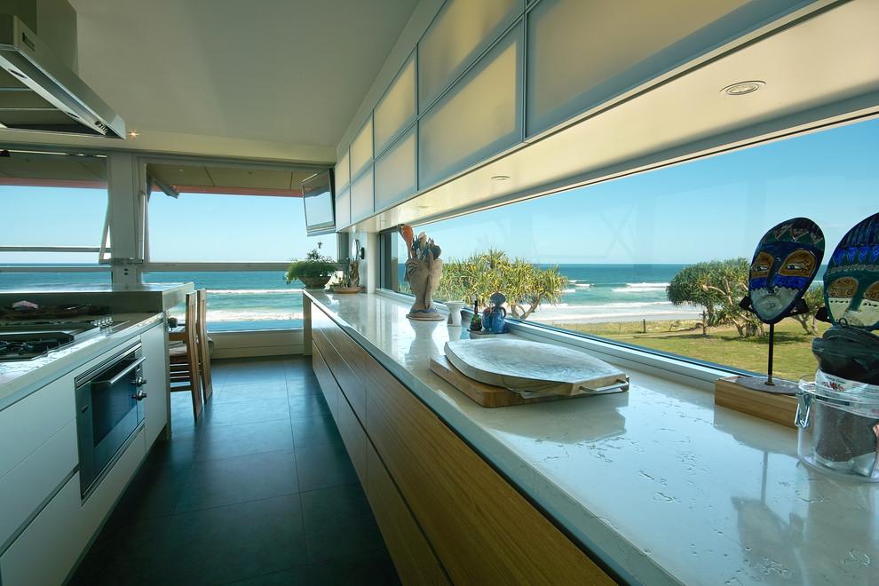 Современный дизайн интерьера кухни - Фото 26