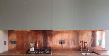 Дизайн кухни с медью в оформлении
