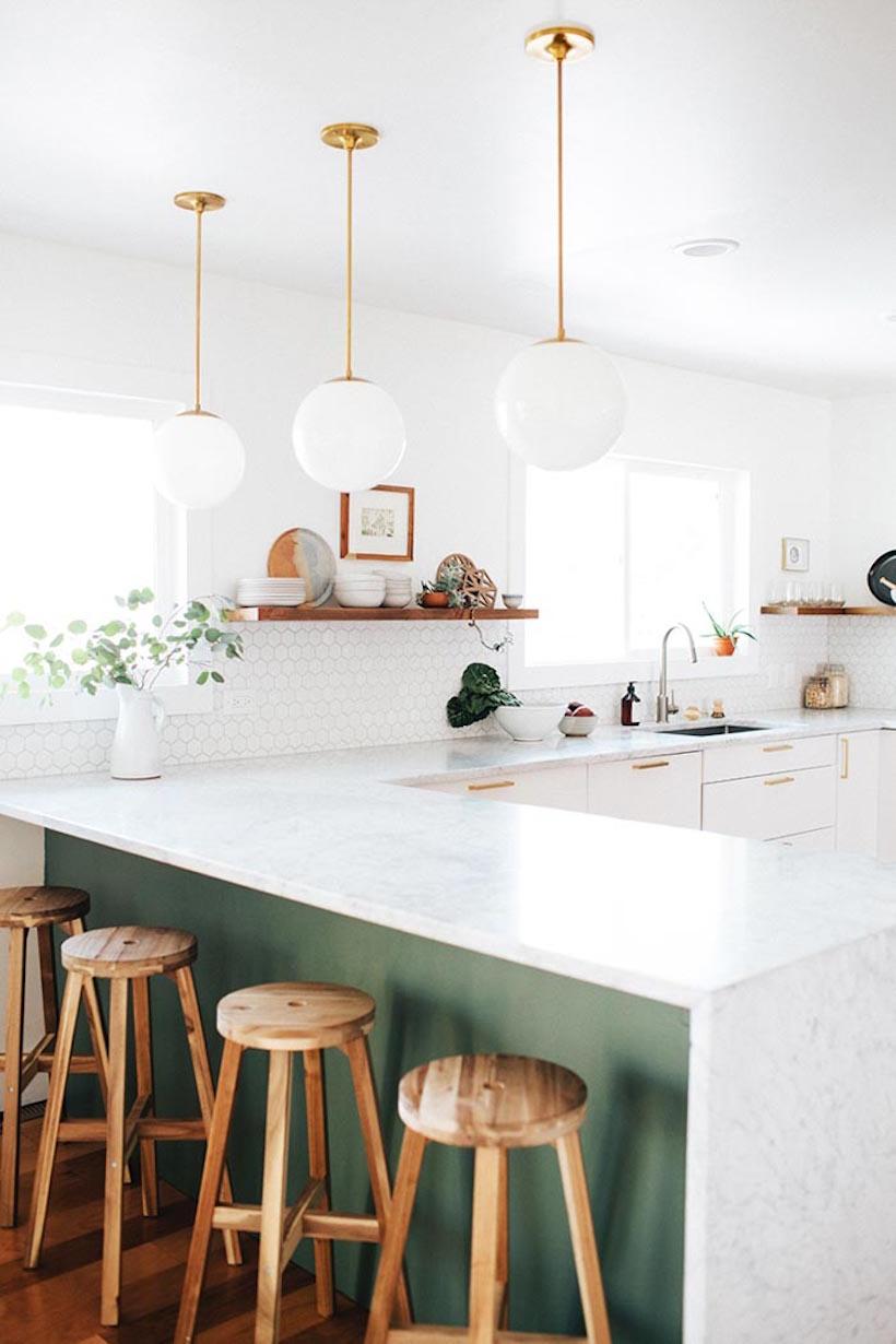 Дизайн кухни с полуостровом - интересный вариант. Фото 3