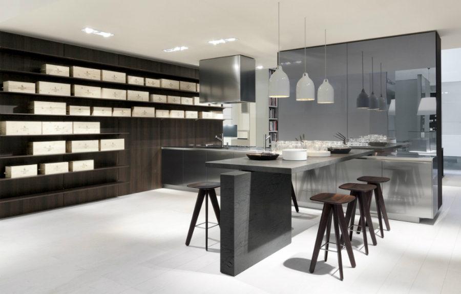 Дизайн кухни с полуостровом - интересный вариант. Фото 4