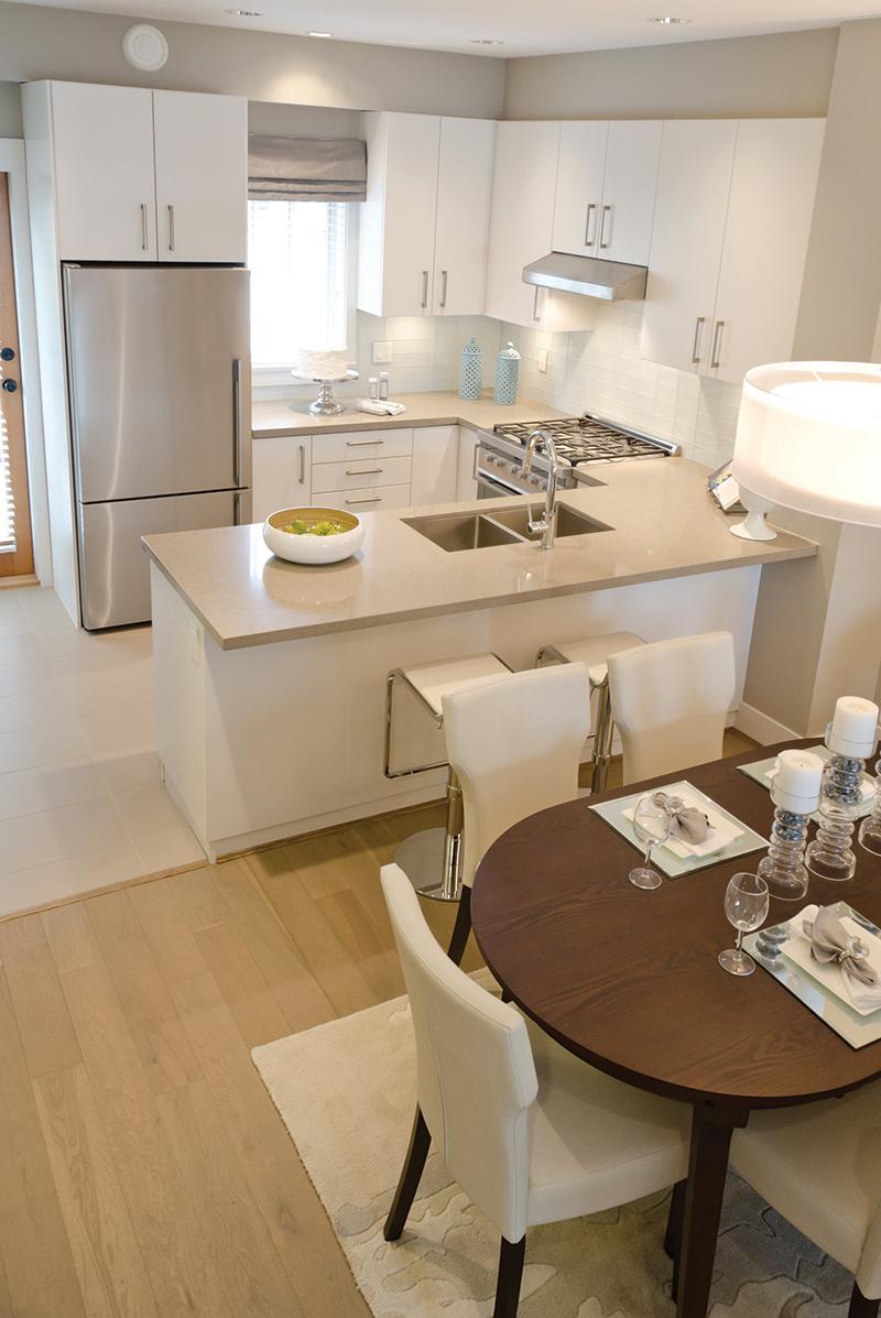 Дизайн кухни с полуостровом. Фото 2