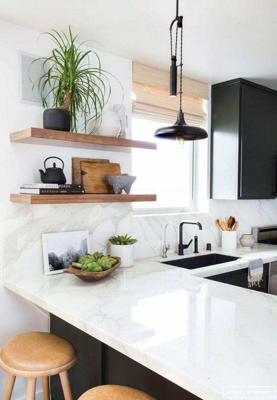 Дизайн кухни с полуостровом. Фото 7