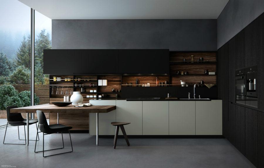 Дизайн кухни с полуостровом. Фото 10