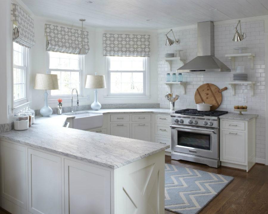 Дизайн кухни с полуостровом. Фото 11