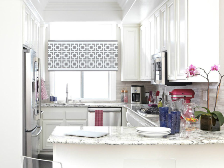 Дизайн кухни с полуостровом. Фото 15