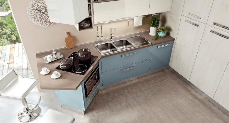 Дизайн кухни с полуостровом. Фото 20