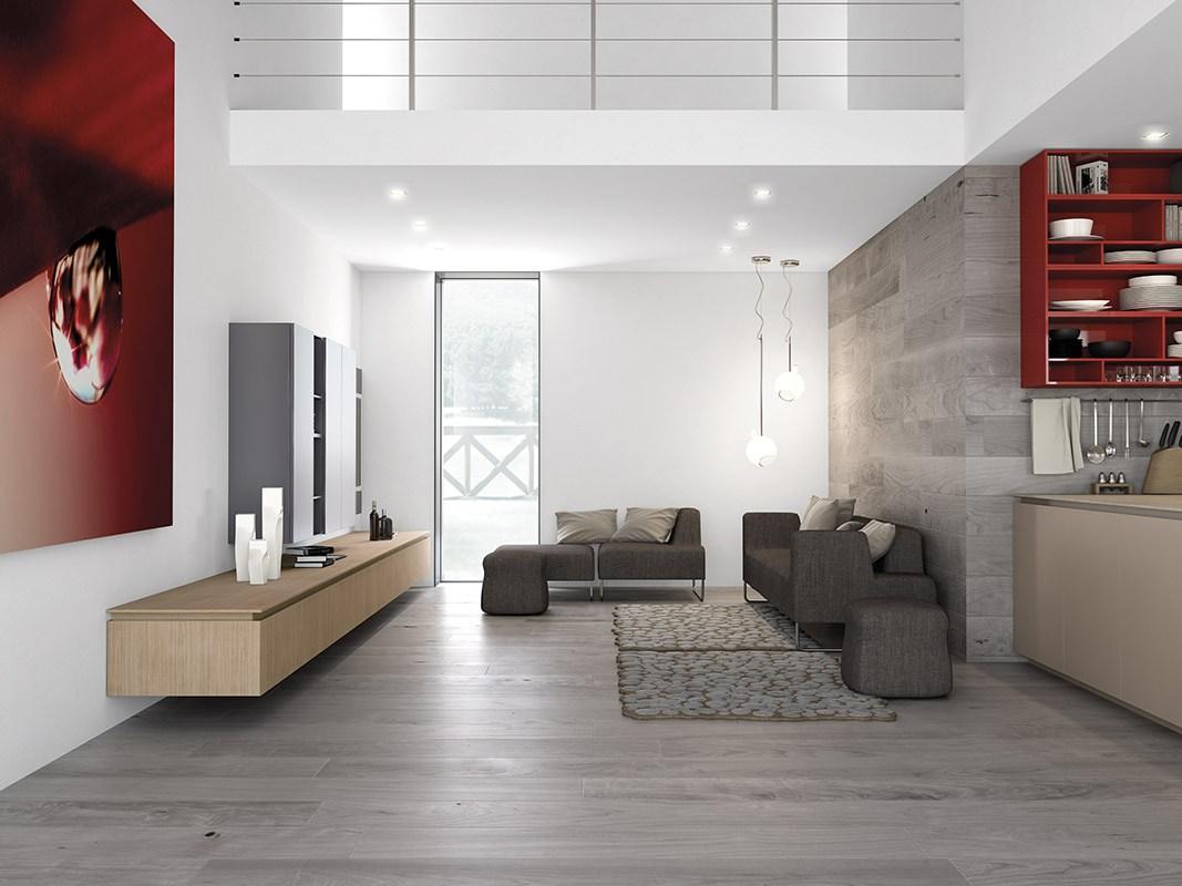 Дизайн кухни в стиле минимализма: маленькая уютная гостиная
