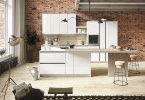 Вносим нотки свежести в интерьер с дизайном кухни в светлых тонах