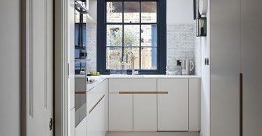 Дизайн кухонного гарнитура студии Fraher Architects
