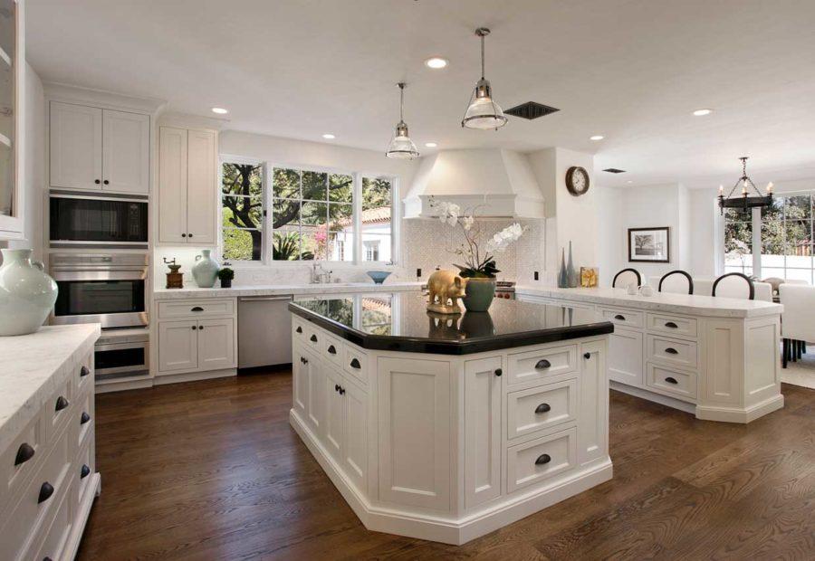 Дизайн кухонного острова в вашем доме - белоснежный дизайн