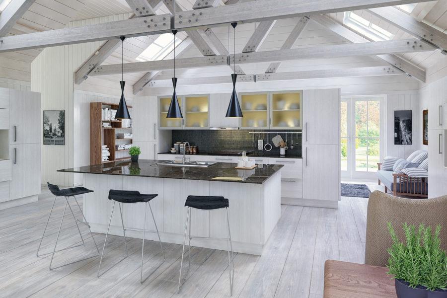 Дизайн кухонного острова в вашем доме - деревенский и современный стиль вместе