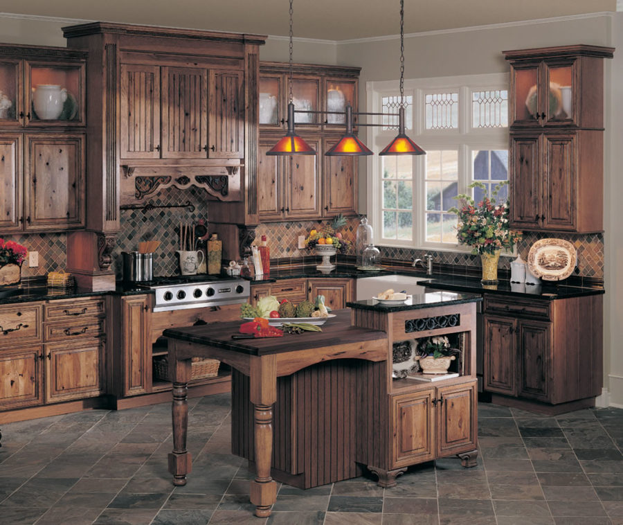 Дизайн кухонного острова в вашем доме - традиционный стиль