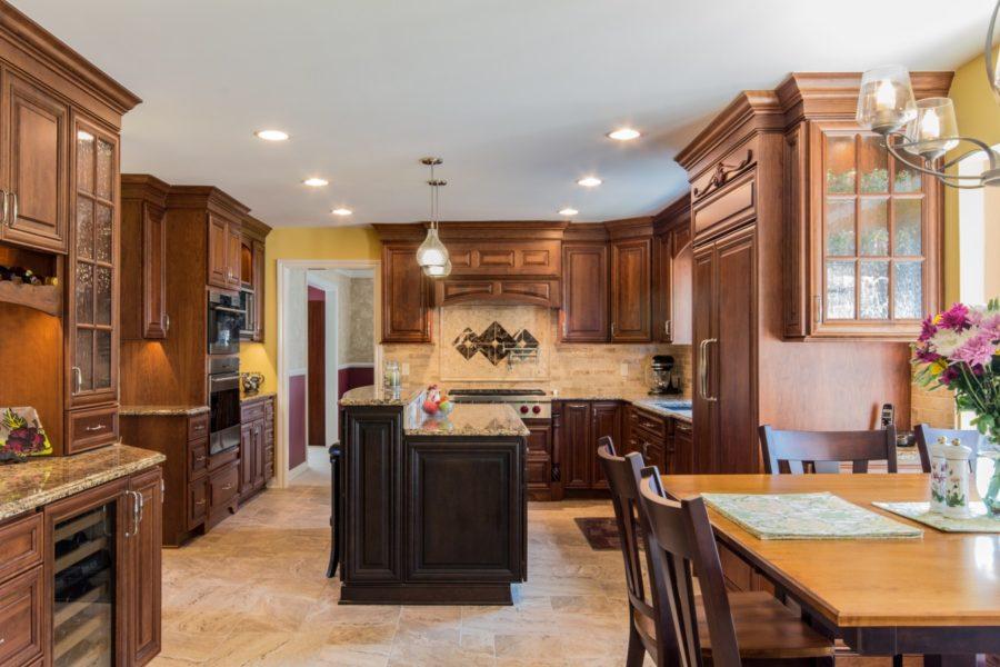 Дизайн кухонного острова в вашем доме - освещение кухни
