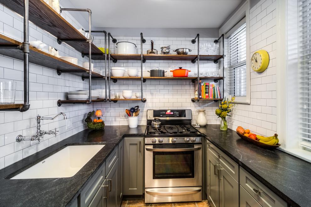 Функциональный дизайн кухонной комнаты