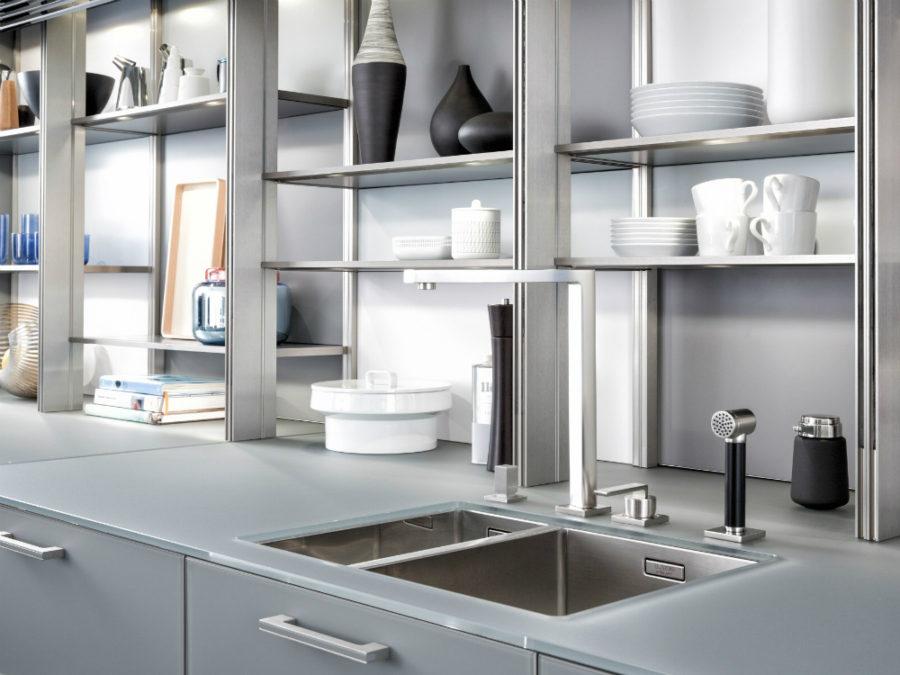 Дизайн кухонных шкафов - раковина
