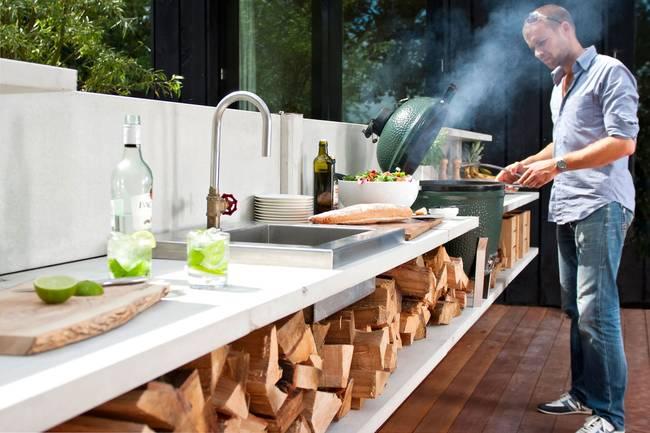 Дизайн летней кухни: экономичный вариант
