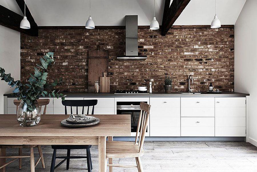 Cовременный дизайн серо-белой кухни, где доминирует белый цвет - фото 4
